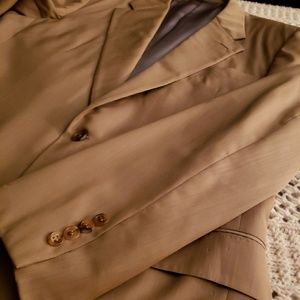 "EUC💞HICKEY FREEMAN ""REGENT"" TAN SPORTCOAT💞"